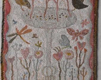 Spring Is Here rug hooking pattern