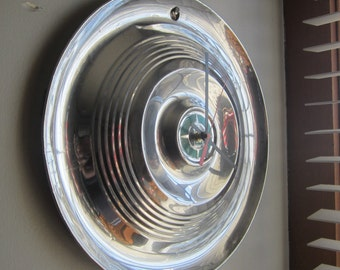 1955 Chrysler Hubcap Clock no. 2345