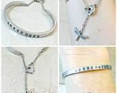 Outlander Cuff, Sassenach Bracelet, Sassenach Cuff,  Dragonfly in Amber Bracelet, Stainless Steel Cuff, Dragonfly Bracelet, Celtic Bracelet