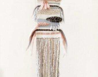 Handmade woven wall hanging \ weaving wall art