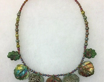 Leaves of Splendor Necklace