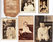 Vintage Photo Lot  Children Cute Kid Snapshot Antique Photo Black & White Photograph Found Paper Ephemera Vernacular