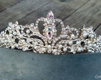 Bridal Crown, Bridal Hair Piece, Wedding Headpiece, Wedding Crown, Rhinestone Tiara, Bridal Tiara, Bridal Headpiece, Bridal Crystal Crown