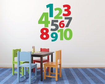 Children's playroom numbers 1 to 10 DB400