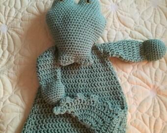 Crocodile Rag Doll Toy/Lovey