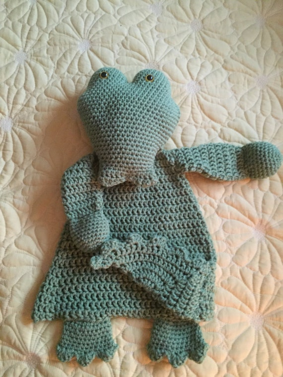 Crocodile Rag Doll Toy/Lovey