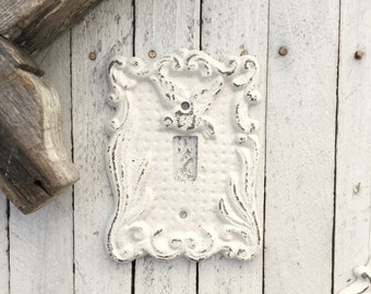 Single Light Switch Cover, Cast Iron Decor, Victorian Home , Romantic Home, Bird Decor, Kitchen Accent, Style 118