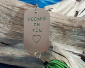 Valentines Gift for Him Valentines Gift for Men Valentines Day Gift Hooked on You Fishing Lure Gift for Her Mens Gift for Him Fishing Gifts