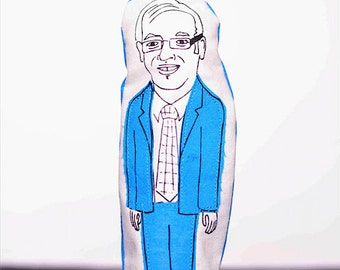 Tony Clement finger puppet