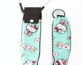 Stethoscope Cover, Stethoscope Covers, Nursing Student, Stethoscope Accessories, Medical Student, Student Nurse, Kitty & Mouse Medic Fabric
