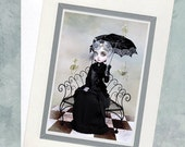 Greeting Card  - Spinster & Skeletal Birds - You Will Always Be A Part Of Me