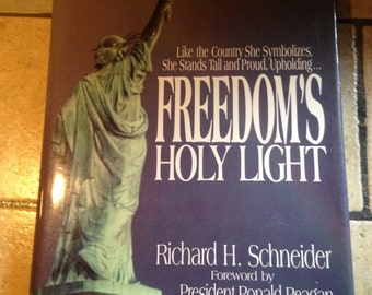 1985 Freedom's Holy Light  Coffee Table Book