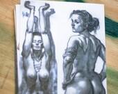 Nude Postcards Set