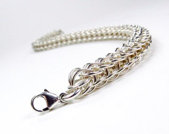 Sterling Silver - Full Persian Bracelet