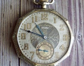 RESERVED LISTING for Sir Marlon D...Antique Elgin Pocket Watch with Chain 1903 by avintageobsession on etsy...20% Discount