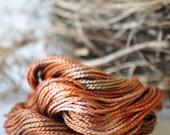 Topaz - Hand Dyed Perle/Pearl Cotton 5 - Sashiko Stitching - Wool Applique - Crochet Thread - Tatting Supplies - Visible Mending Thread -