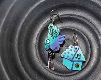 Bluebird of Happiness Earrings
