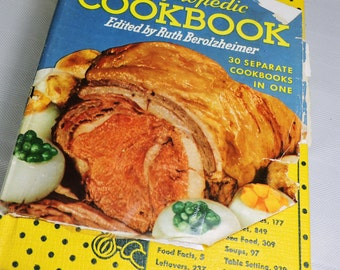Vintage Cookbook, Culinary Arts Institute Encyclopedia Cookbook