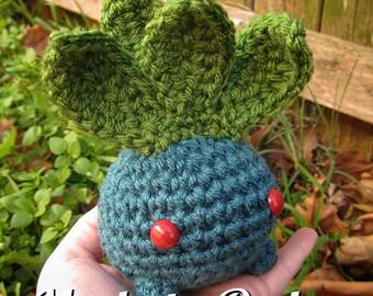 Made to Order - Crochet - Chibi Pokemon Amigurumi - Oddish