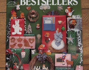 Vintage 1989 craft pattern book Bazaar Bestsellers no. 4