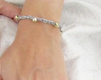 Friendship bracelet luck bracelet gold beads daily fashion jewelry
