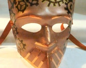 Mechanical Chess Hand Painted Mask