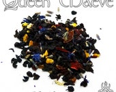 Queen Maeve Tea - loose leaf black tea, berry lavender, Celtic pagan, Faery Queen, Irish mythology, Goddess of sex war, Celtic Goddess, mead