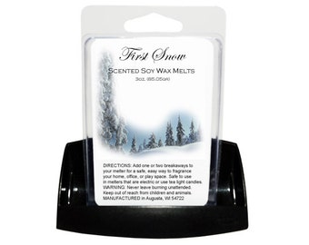 FIRST SNOW // Wax Tarts // Soy Tarts // Candle Tarts // Melting Tarts // Scented Tarts