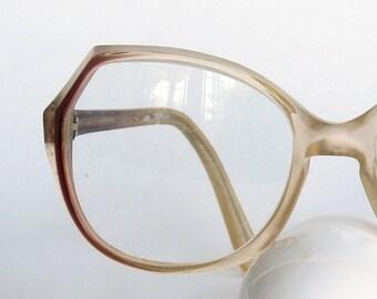 Vintage  Geometric Retro vintage eyeglasses Vintage eyewear Vintage frames brown, Hipster eye wear vintage sunglasses