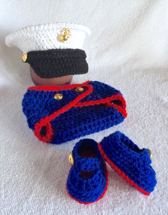 Marine Corps Baby Boy Marine Clothes Baby by babypropsbyconnie