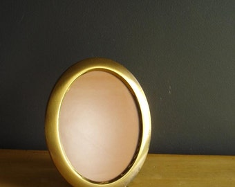 Oval Frame - Small Vintage Brass Oval Frame