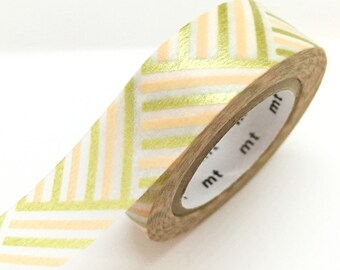 Japanese Peach Gold Washi Tape