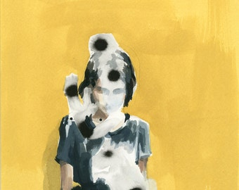 Suspect Notion . original painting