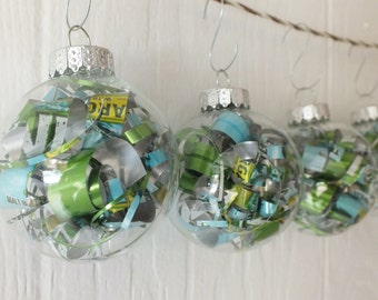 Lime a Rita Recycled Beer Can Ornament