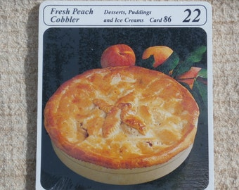 1975 My Great Recipes, Sealed Package of Recipe Cards, Card Packet No. 61