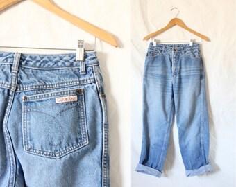 "c1980's High Waist Calvin Klein USA Jeans 27"" High Waist"
