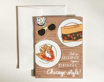 Chicago Beef Birthday