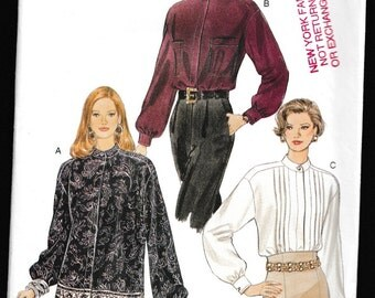 Vogue 9069 Misses Loose Fitting Blouse