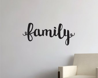 Family Wall Decal - Wall Decal Quote -  Family Quote Decal - Decal Family Quote - Wall Decals - Quote Decals - Family Decals