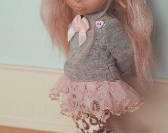 RealFee Tutu Sweater and Pants - Pink