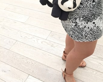 Panda Purse with Shoulder Strap