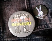 Empire Records Open Til Midnight large pin badge button Rex Manning Day pinback buttons Damn the Man Save the Empire