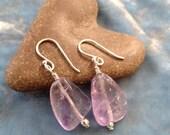 Lavender Amethyst Earrings