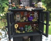 Layaway Available Dollhouse Miniature Witch Wizard Cabinet