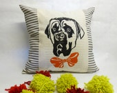 Bull Mastiff Decorative Pillow - Bull Mastiff Print Decorative Pillow