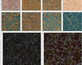 Digital Hand Marbled Paper, 40 Files, Instant Download, Pack b6a