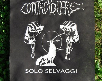 CONTROPOTERE ~ backpatch and free patch (30 different designs available)