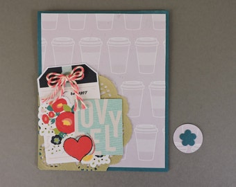 Be Happy Lovely Card
