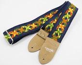 Limited Denim Hippie Weave Guitar Strap
