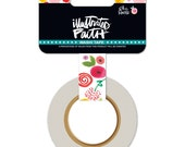 illustrated faith MP favorites -- she blooms washi tape roll